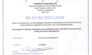 ISO9001 Certification Success!