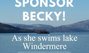 One mile swim of Lake Windermere for the Bloom Appeal