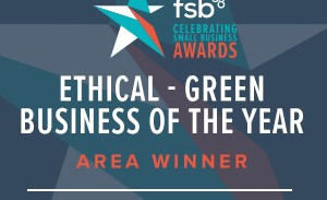 Crowberry Consulting wins at the FSB Awards Ethical-Green Business of the Year!